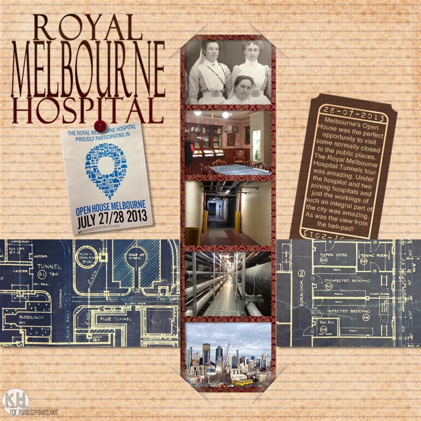 Royal Melbourne Hospital Page