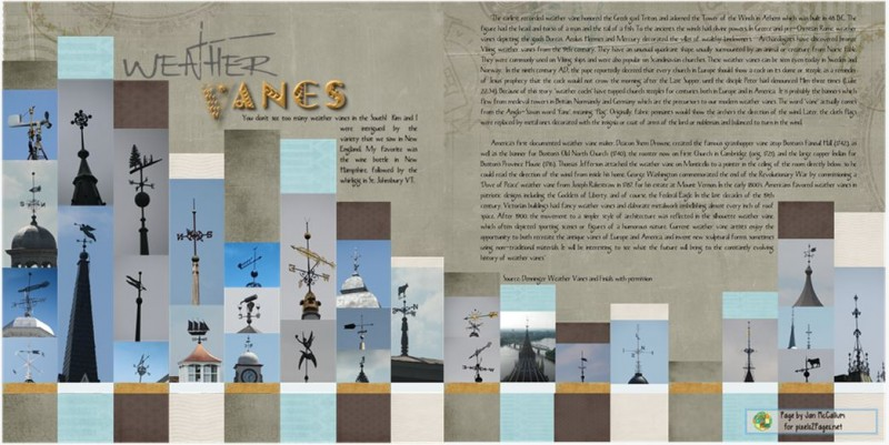 "p2PMinnamurraRainforestBP Page by Jan McCallum for pixels2Pages.net ""Weather Vanes"" Content: CM Traveller DK; Fonts: Rat Infested Mailbox, Glitter, The Blue Cabin"