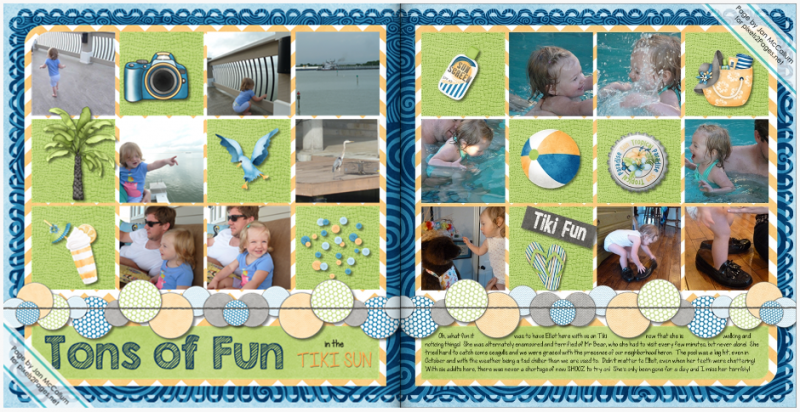 "Love this pixels2Pages.net DPS Blueprint ""Spice Market"".  Makes digital scrapbooking easy!"