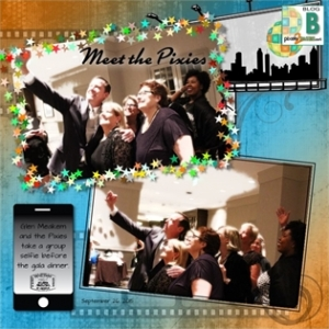 digital scrapbooking with Artisan and Historian at pixels2Pages.net